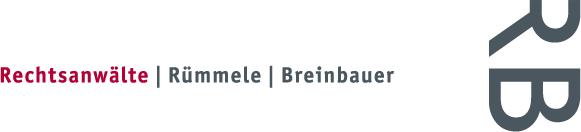 Rechtsanwälte Rümmele Breinbauer Logo